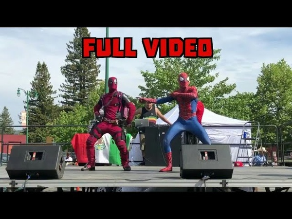 DEADPOOL and SPIDERMAN Dance Collaboration (Shake It Off×Bop It×Pick It Up×I Will Always Love You)