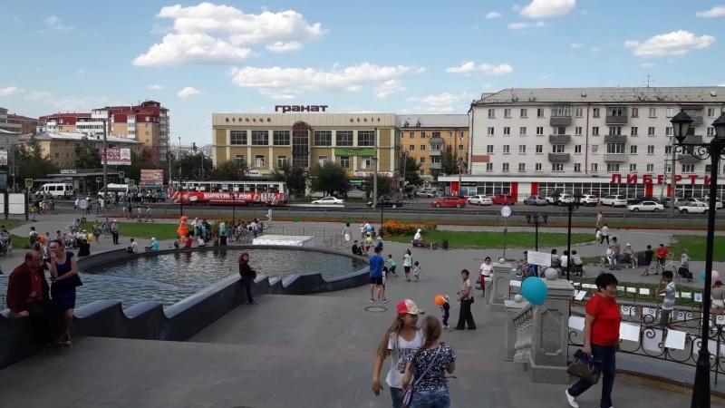 В Улан-Удэ отметили 80-летие Октябрьского района 29.08.2018 г.
