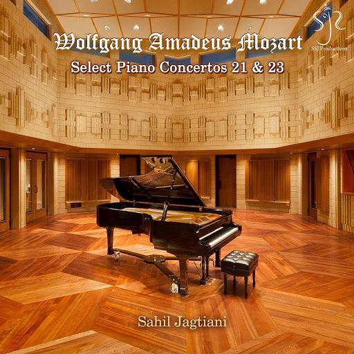 Sahil Jagtiani альбом Wolfgang Amadeus Mozart: Select Piano Concertos 21 & 23
