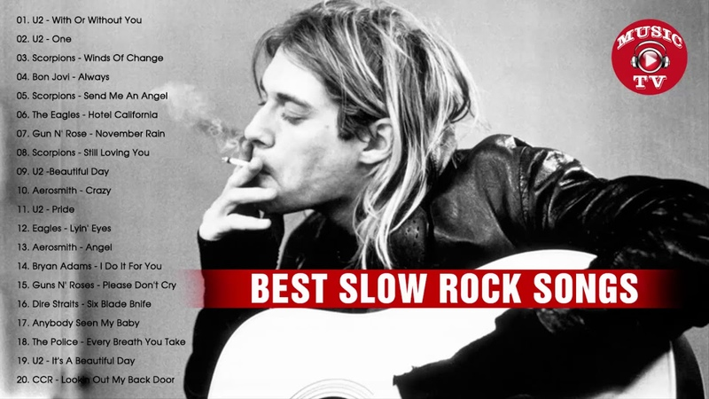 Best Slow Rock Ballads of All Time - Greatest Slow Rock 70's - 90's