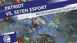 PATRIOT vs Se7en eSport WESG 2018 Kazakhstan Regional Final
