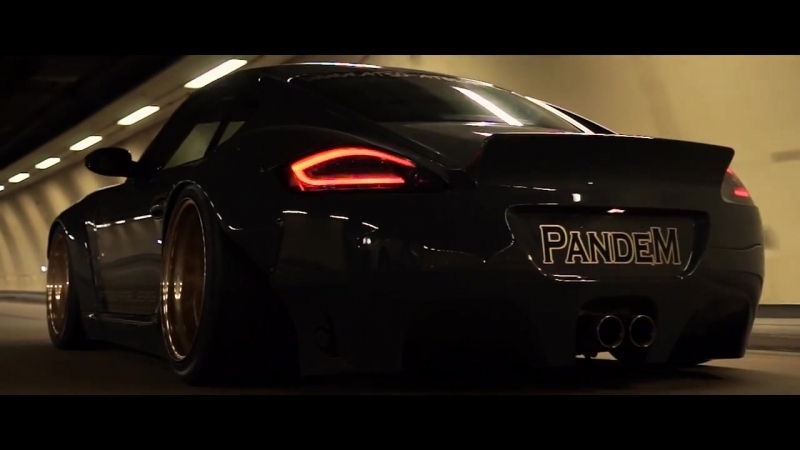 Porsche Cayman Rocket Bunny | Ride in Paris | Visual Ride Film | Perfect Stance