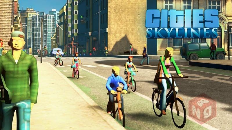 Cities Skylines - Упреждающий удар по пробкам! 6