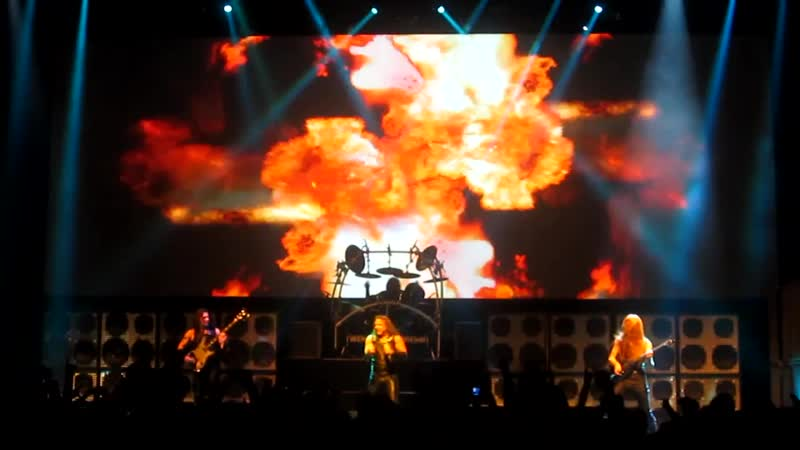 Manowar Black Wind Fire And Steel live in St Petersburg 23 03 2014