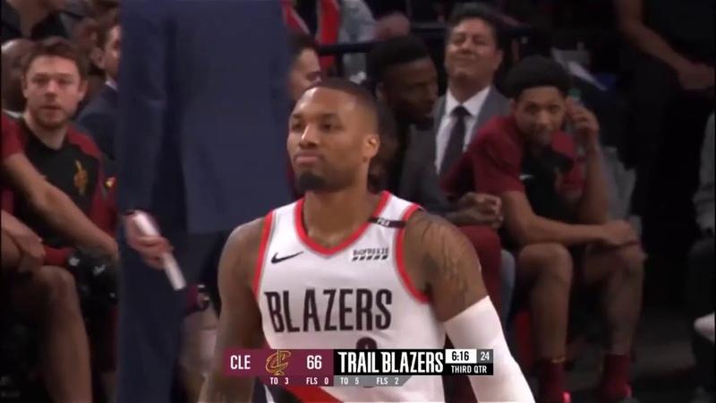 Портленд Трэйл Блэйзерс - Кливленд Кавальерс Обзор матча НБА 17012019