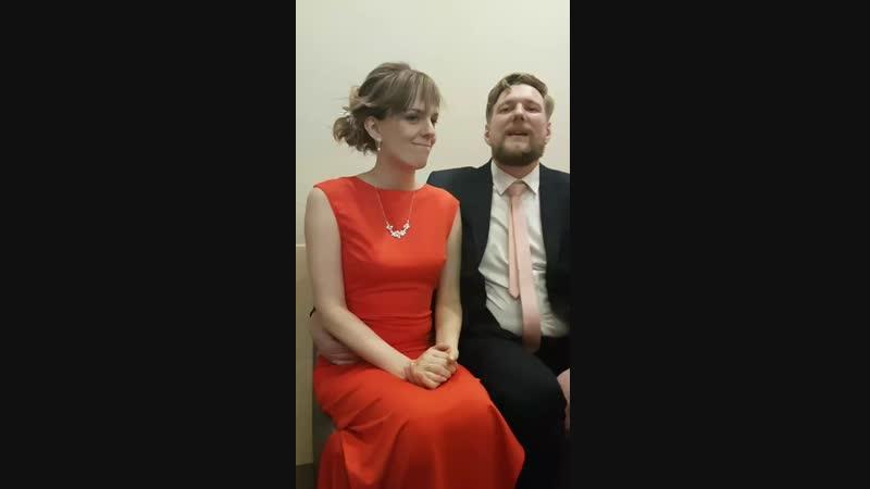 Видео отзыв молодоженов со свадьбы от 12.01.2019 года!