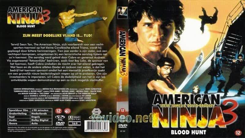 Американский ниндзя 3 Кровавая охота American Ninja 3 Blood Hunt (1989) МВО СТС, BDRip HD 1080
