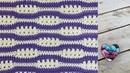 Concours Partage! Point vague ajouré crochet Lidia Crochet Tricot
