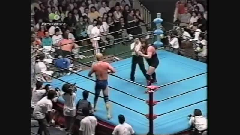 1997.07.25 - Kenta Kobashi/Johnny Ace [c] vs. Gary Albright/Steve Williams