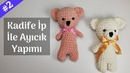 Kadife İp İle Ayıcık Yapımı 2 - Amigurumi Bear