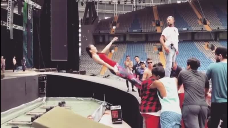 Анна Обоянская в Instagram «Пока мы в активной стадии подготовки (1)