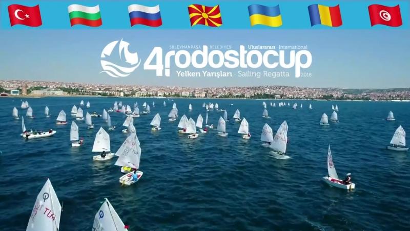 Yelkenin Kalbi, Tekirdağ'ın Kalbi Süleymanpaşa'da atacak. 7 ülkeden 311 sporcunun katılacağı 4. Uluslararası RodostoCup Yelken Y