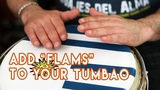 Add Flams to your Tumbao Conga Drumming!