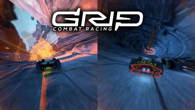 GRIP Combat Racing Splitscreen PEGI XB1