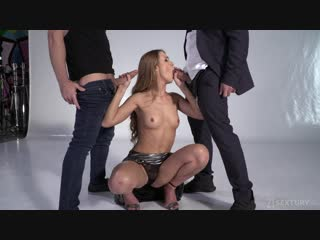 Alexis crystal (threesome modeling)[2018, brown haired, natural tits, oral, hardcore, anal, dp, cumshot, facial, 1080p]