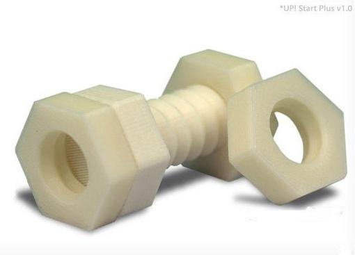 Изготовление пластмассовых деталей с помощью 3D принтера.