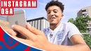 Better Beard Than JLingz! | Jadon Sancho Instagram Q A | Ask