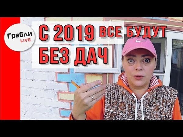 Новый закон о дачах с 2019 217 ФЗ Что будет с дачами в 2019