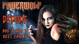 ANAHATA Demons Are a Girl's Best Friend POWERWOLF Cover