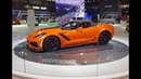 2019 Chevrolet Corvette ZR1 Convertible in Orange Engine Sound on My Car Story with Lou Costabile