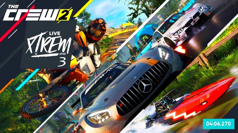 THE CREW 2 GOLD EDiTiON FUN-RACE (LiVE REPLAY) LiVE XTREM (Series 3) 406.270 PART 596 ...