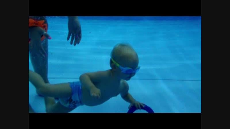 Подводная съемка в центре семейного плавания АкваKid осень ю