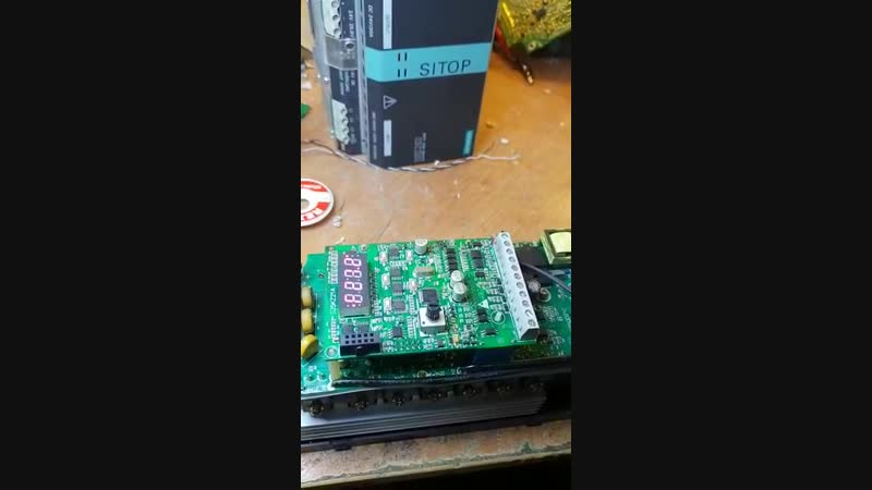 КИПлаб ремонт- Innovert ISD402M43B отчет ремонт частотного преобразователя