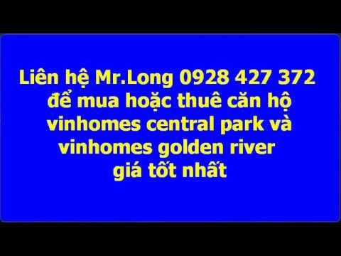 Cho thuê căn hộ quận 1 vinhomes golden river ba son và vinhomes central park theo ngày giá tốt