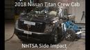 2018-2019 Nissan Titan Crew Cab NHTSA Side Impact