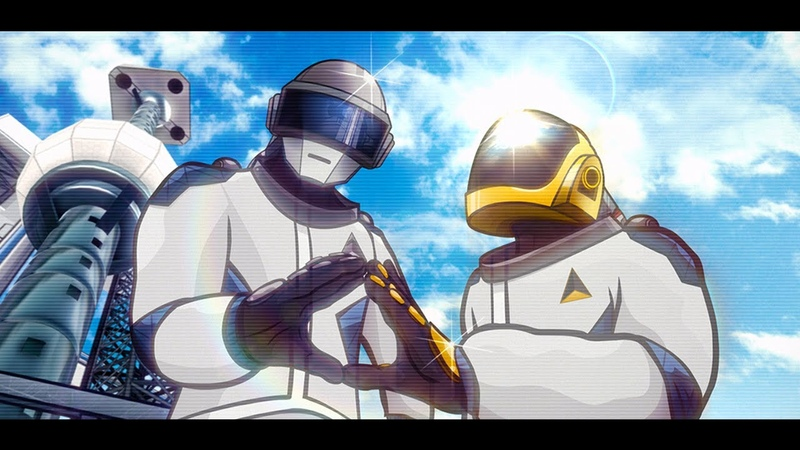 Give Life Back to Music - Daft Punk Animated Music Video