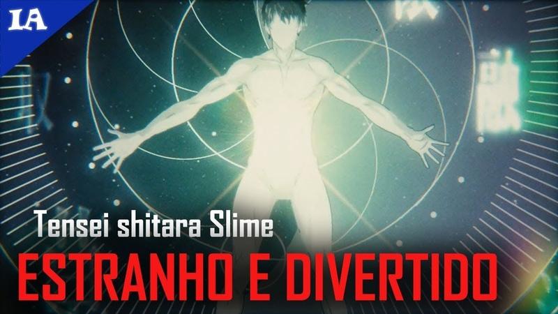 O NOVO ANIME DE REENCARNAÇÃO COM PROTAGONISTA OVERPOWER   Impressões - Tensei Shitara Slime
