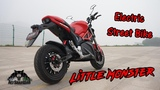Introducing my New Little Monster Electric Motorcycle Street Motard