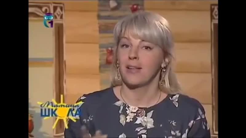 Кукла Каша, передача Мамина школа, мастер-класс