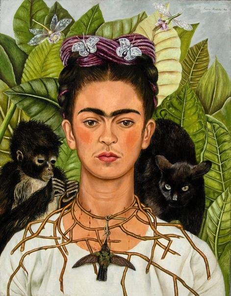 История одного шедевра. «Автопортрет с терновым ожерельем и колибри», Фрида Кало
