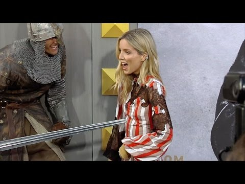 Annabelle Wallis Oops Moment