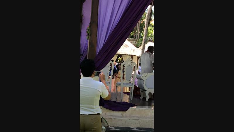 Свадьба индусов Бали 23 02 19 2