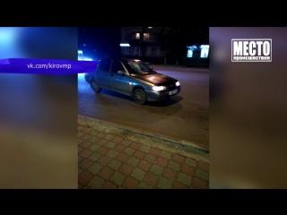 Обзор аварий. Сбитый пешеход на ул. Воровского. 24.09.2018