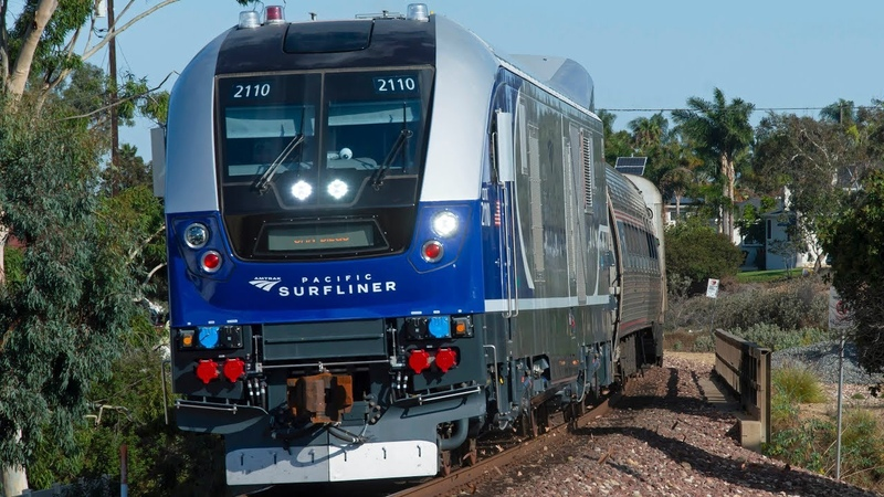 4K - Brand New Siemens Charger (SC-44) Locomotives on the Pacific Surfliner!