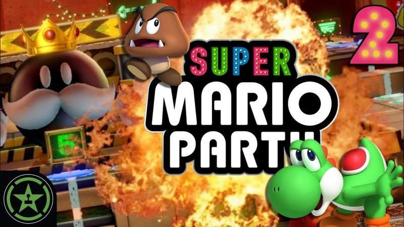 King Bob-omb's Powderkeg Mine - Super Mario Party (2) | Let's Play