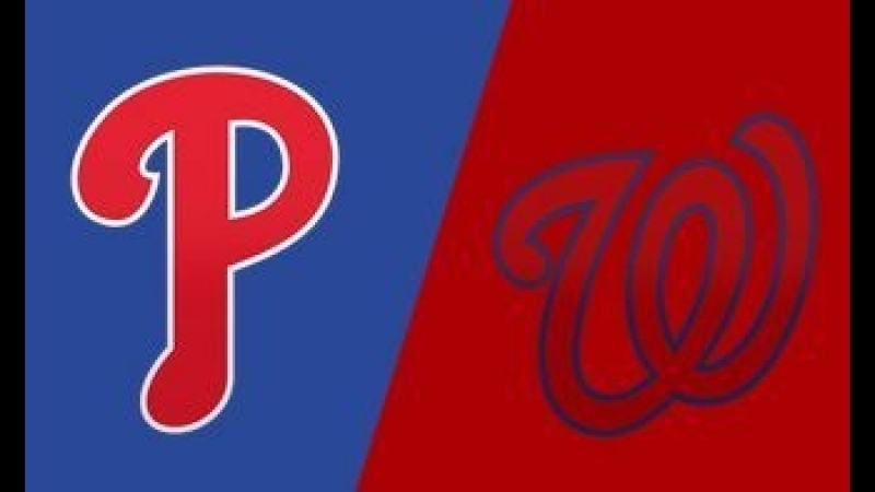 NL / 21.08.2018 / PHI Phillies @ WAS Nationals (1/3)