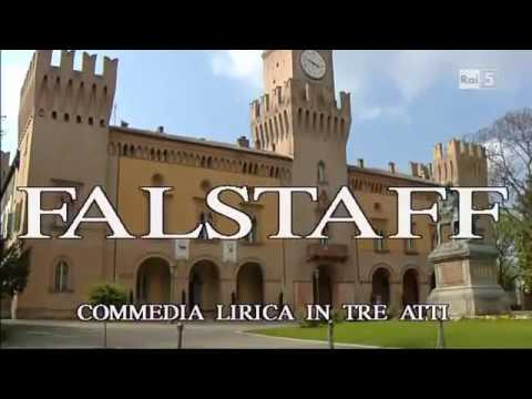 """Falstaff"" (opera), Verdi - Teatro Verdi (Busseto), 2001"