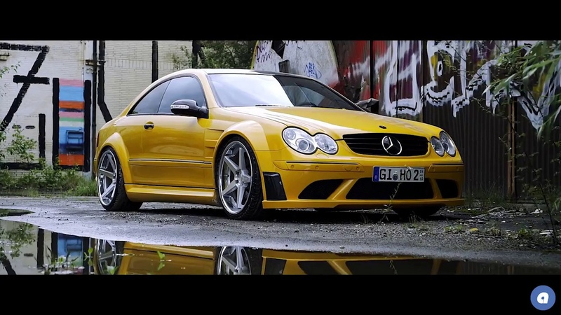 Audiocityusa Mercedes CLK Widebody Wasteland Monster Ferrada Wheels FR3