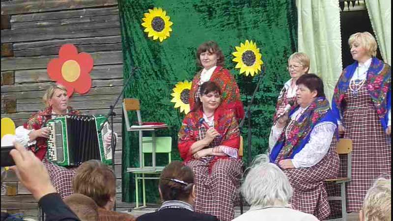 2 августа 2013г Завалинка на Ильин-день в д.Воепале.