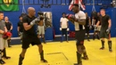 Muay Thai technique with Daniel Sam - Catch the roundhouse kick and counter attack