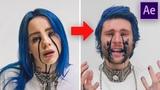 BILLIE EILISH - Cry BLACK TEARS (After Effects Tutorial)