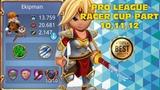 Royal Revolt 2 l Pro League Racer Cup Part 10,11,12