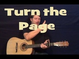 Turn The Page (Bob Seger) Easy Guitar Lesson Chord Strum How to Play Tutorial