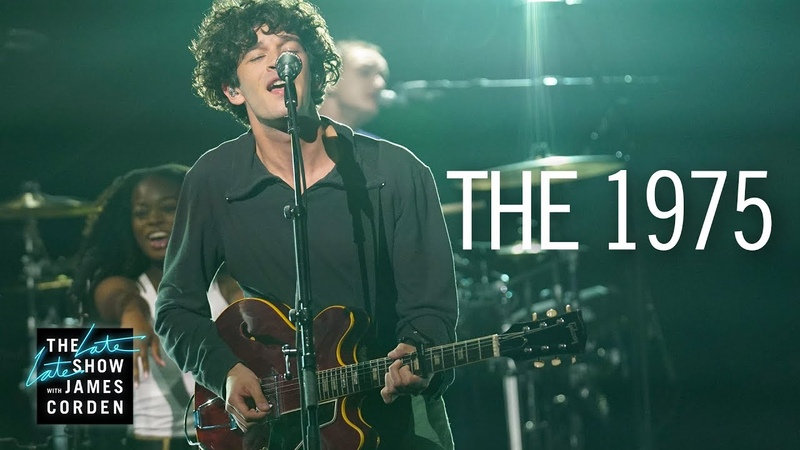The 1975 - It's Not Living (If It's Not With You) (The Late Late Show with James Corden)