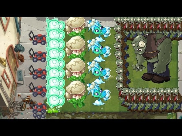 Pvz 2 - Electric Peashooter, Missile Toe and Caulipower