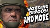Heroes and Generals update WORKING BIPODS! (Prototype)